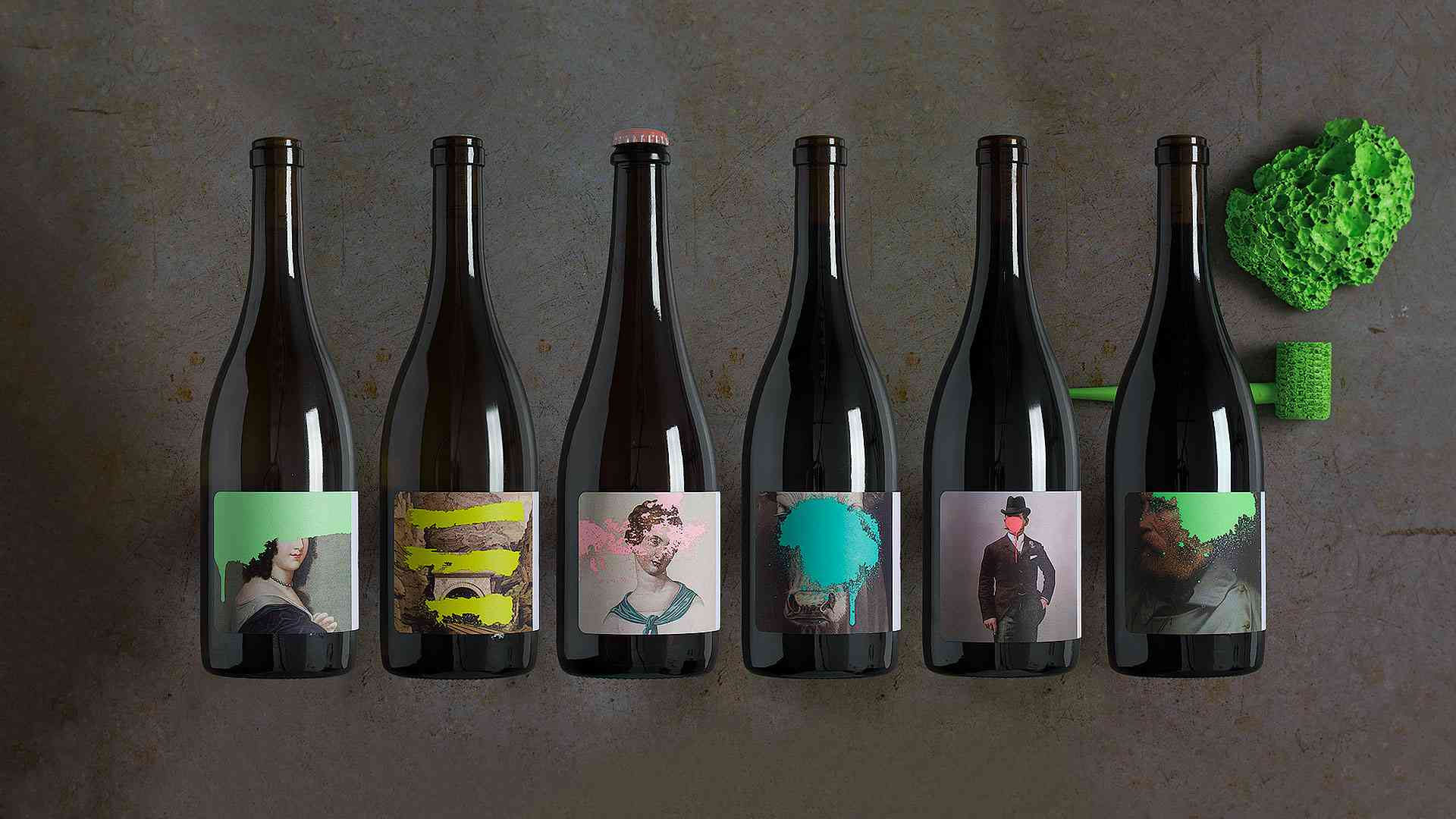Pretty Wines - Graphic Design - Packaging, Labels, Wine ... |Wine Bottle Graphic Design