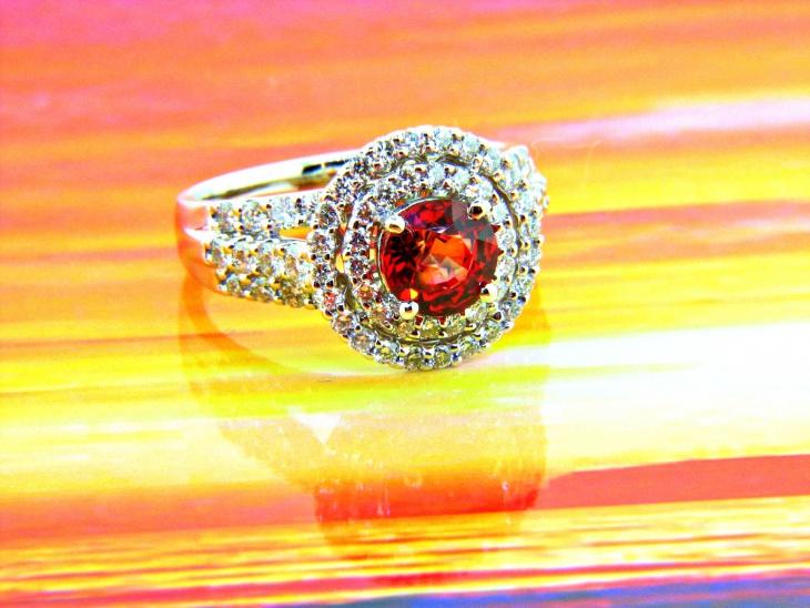 double halo wedding ring