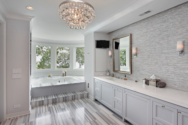 crystal bathroom chandelier design