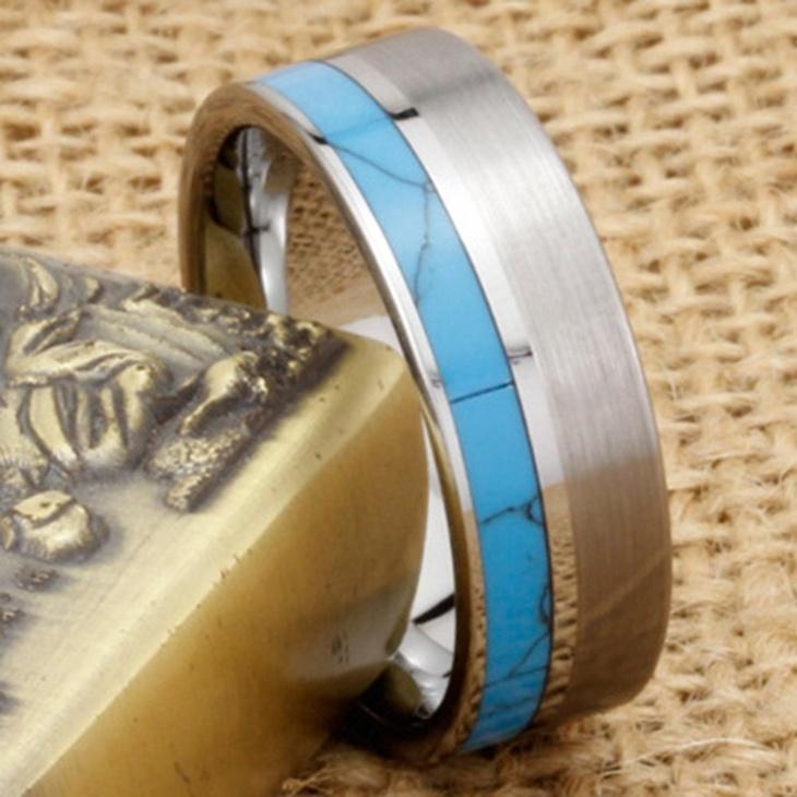vintage turquoise wedding ring