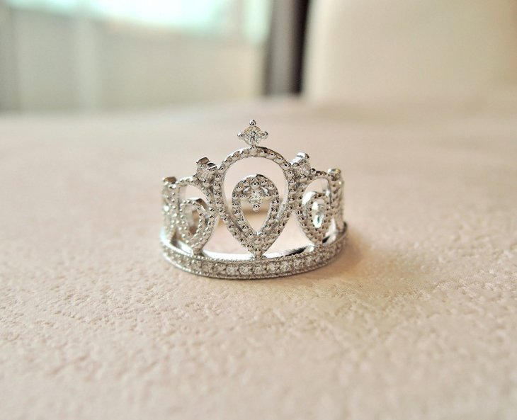 Princess Crown Wedding Ring