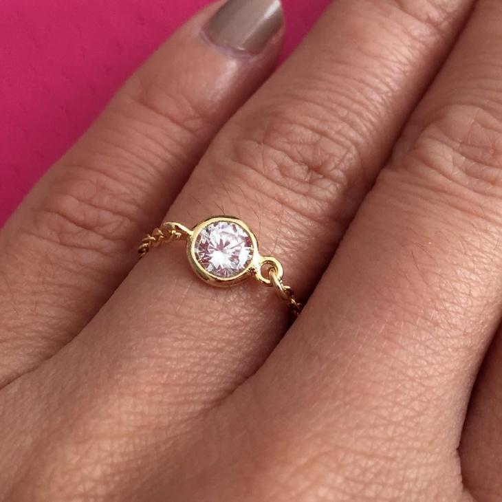 vintage round wedding ring