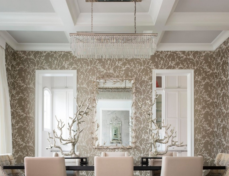 rectangular dining room chandelier