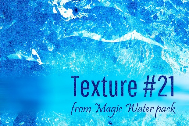 Magic Water Texture Design