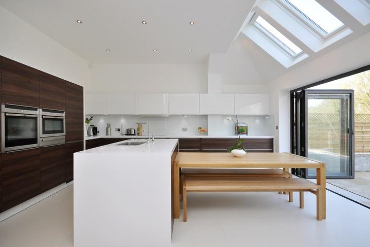 Kitchen Island Ceiling Design