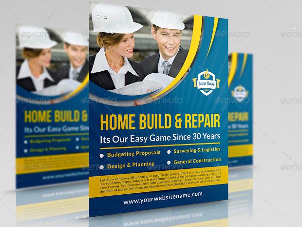 Construction Business Flyer