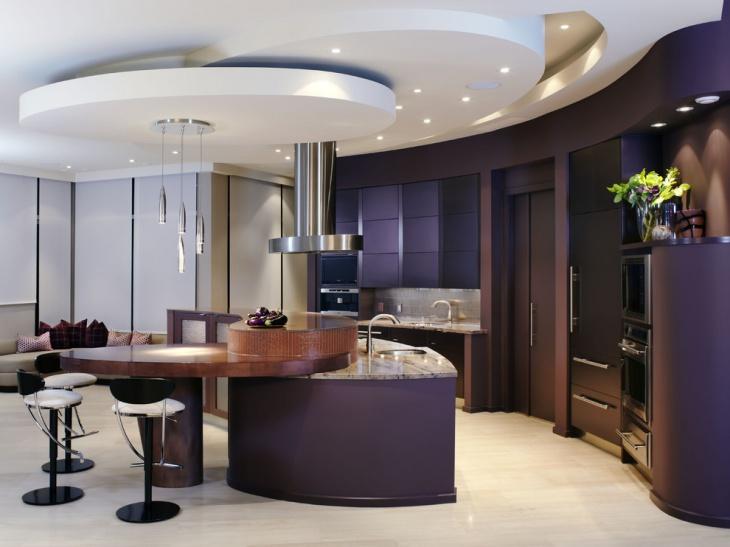 Kitchen Drop Ceiling Design