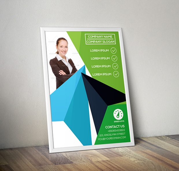 Photorealistic Business Flyer