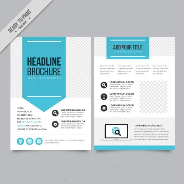 Blue Arrow Business Flyer