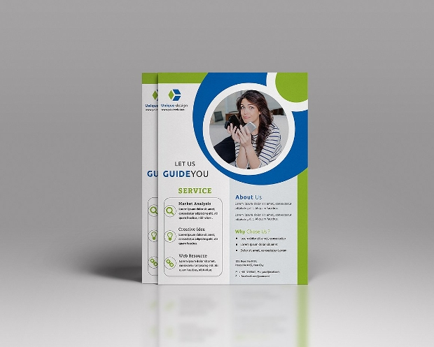 A4 Corporate Business Flyer