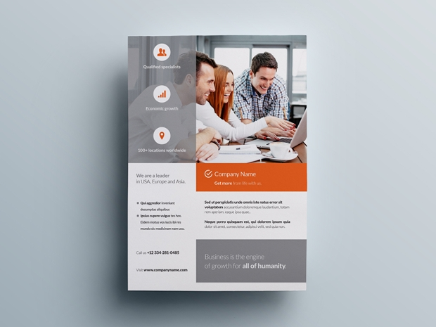 20+ Business... Technical Poster Template