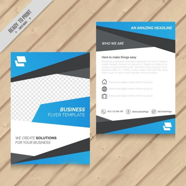 Design Trends Premium Psd Vector Downloads: 47+ Business Flyer Template Designs