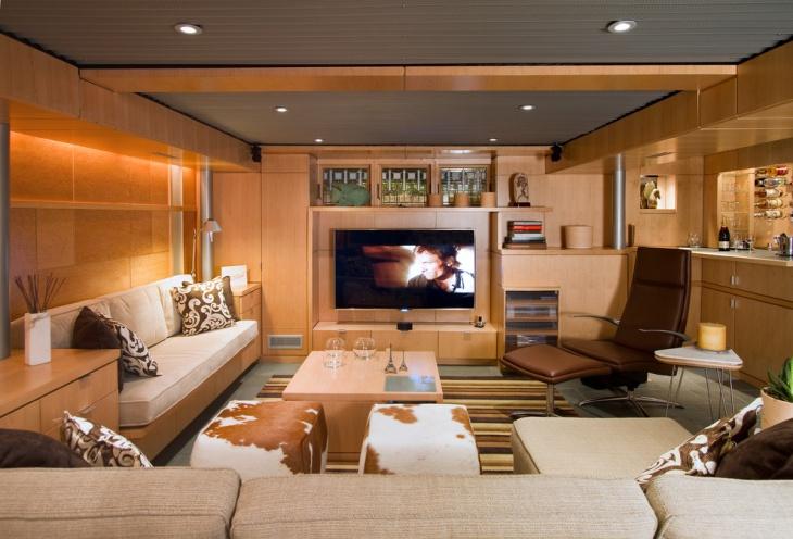 Low Basement Ceiling Design