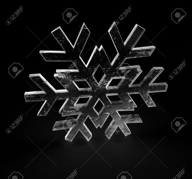 3d ice texture