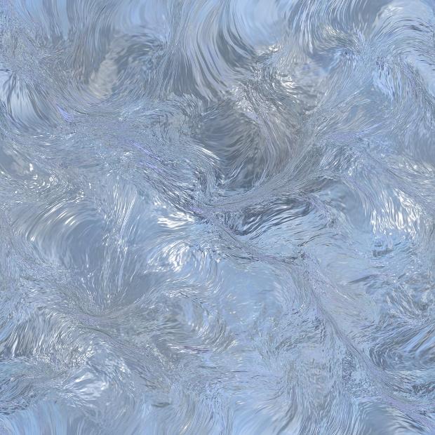 swirled ice texture