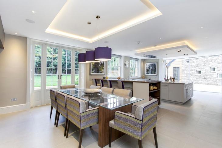 Dining Room False Ceiling Design