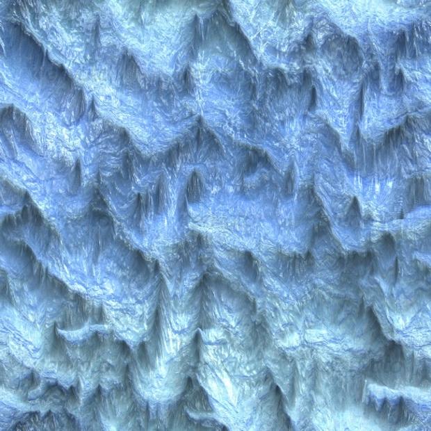 ice cave texture design