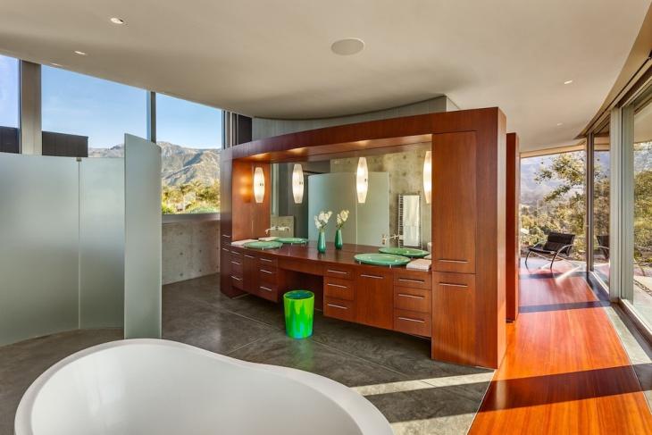 Modern Bathroom Ceiling Design