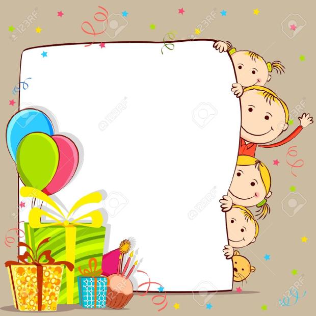 birthday card clipart
