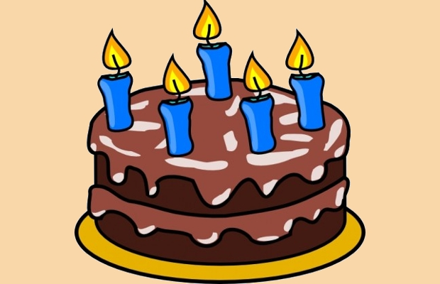 Birthday Chocolate Cake Clipart