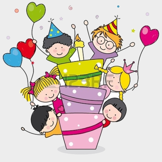 Kids Birthday Party Clipart