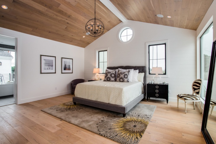wood vaulted ceiling design