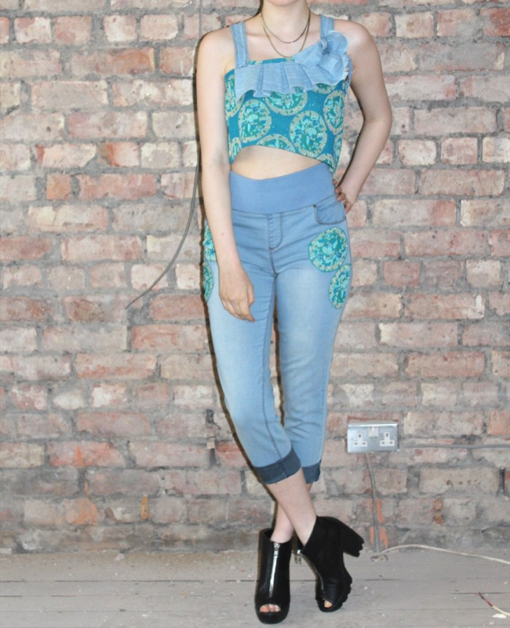 Floral Top with Jeans