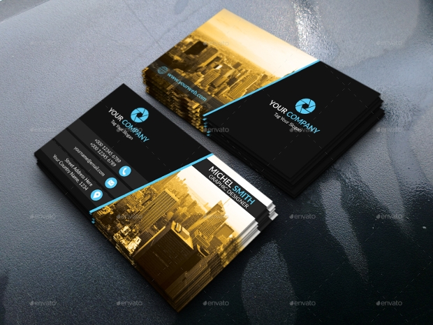 Square Real Estate Business Card