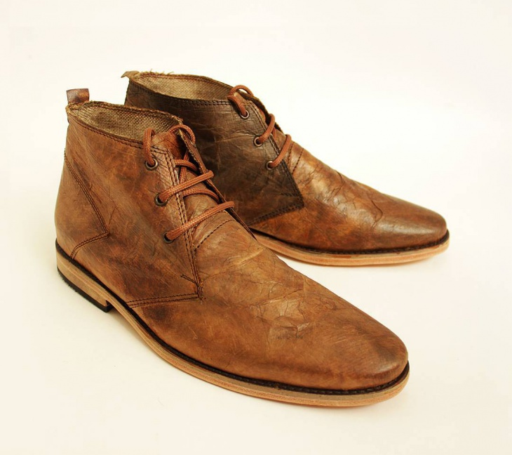 classic brown paper shoes