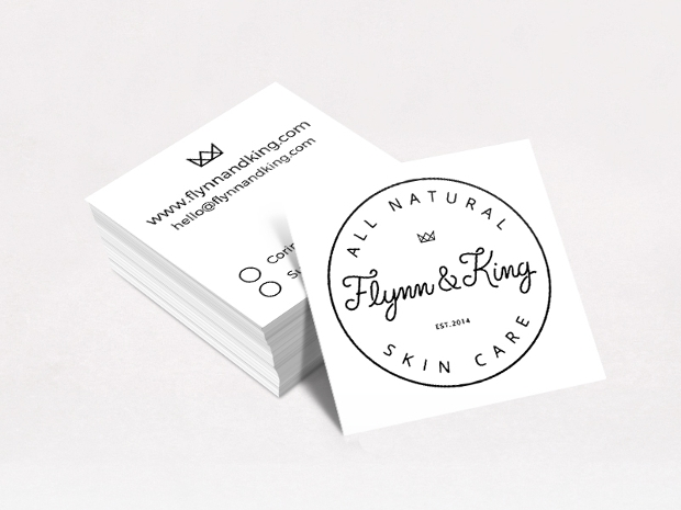 King Square Business Card