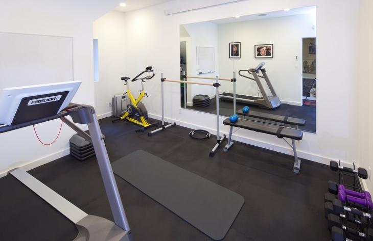 rubber gym floor design