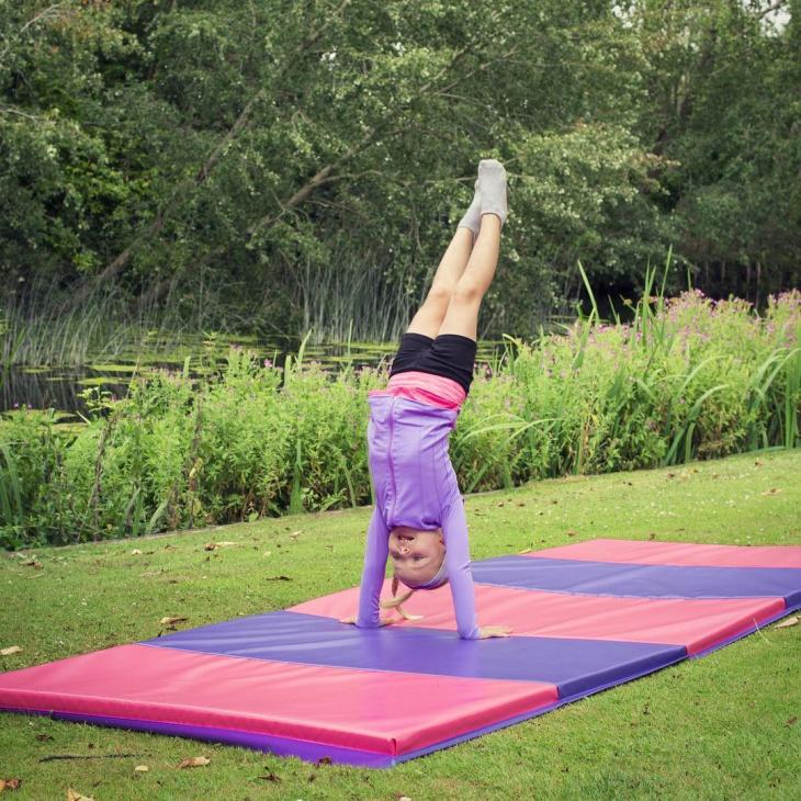 outdoor gym mat design