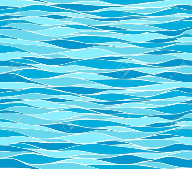 marine waves pattern