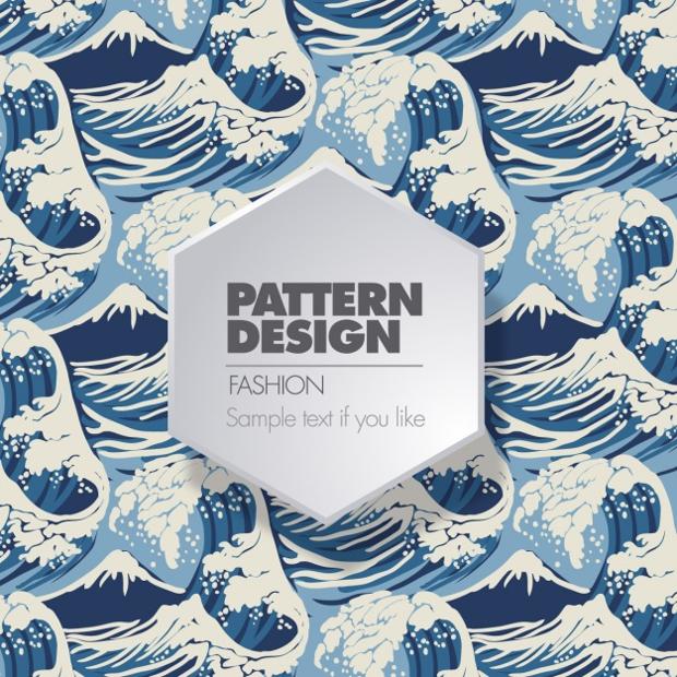surf wave pattern
