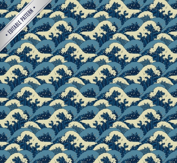 japanese wave pattern 1