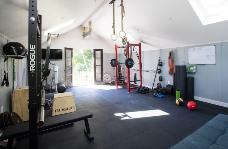 Crossfit Home Gym Interior Design