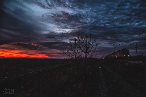 night train photography
