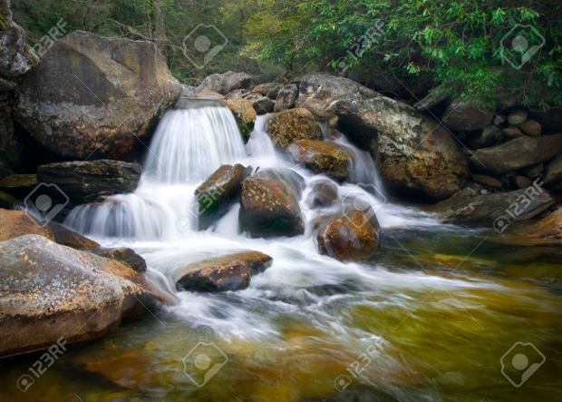 Nature Waterfalls Photography