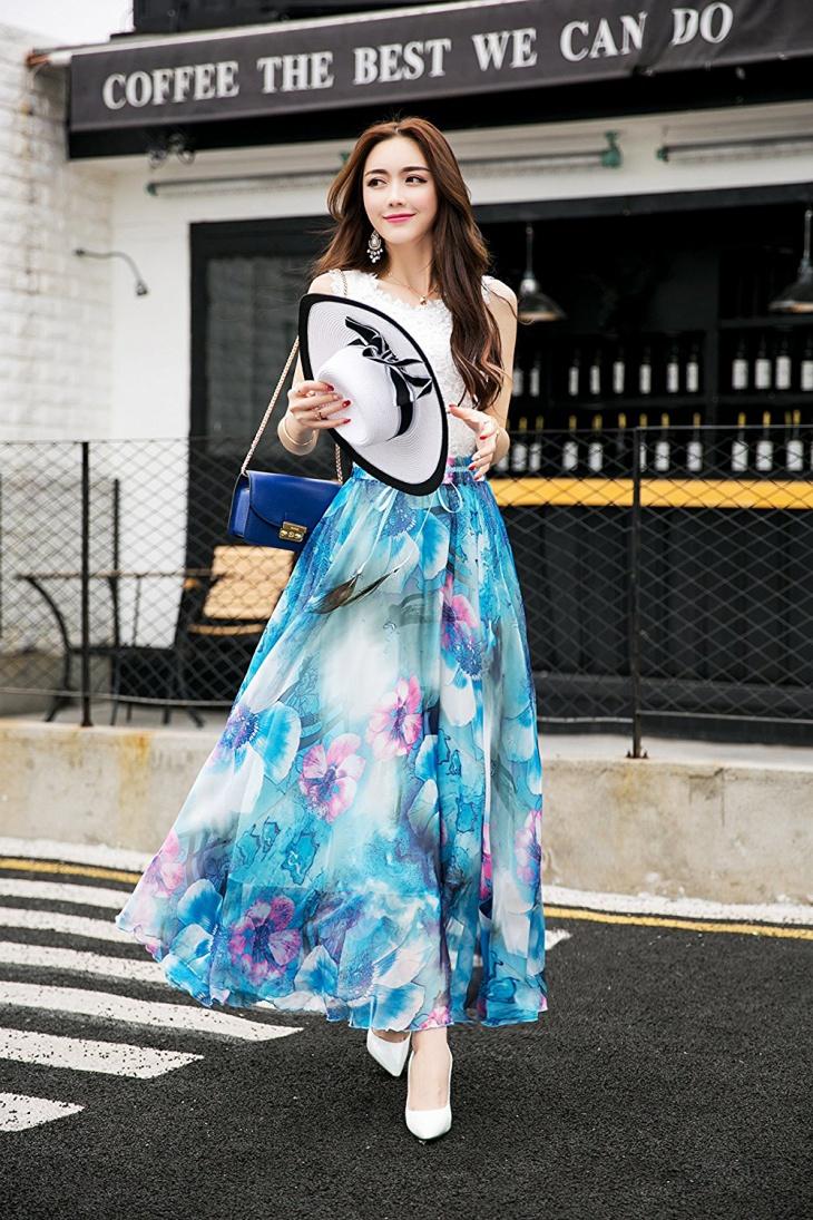 41 Maxi Skirt Dress Designs Ideas Design Trends