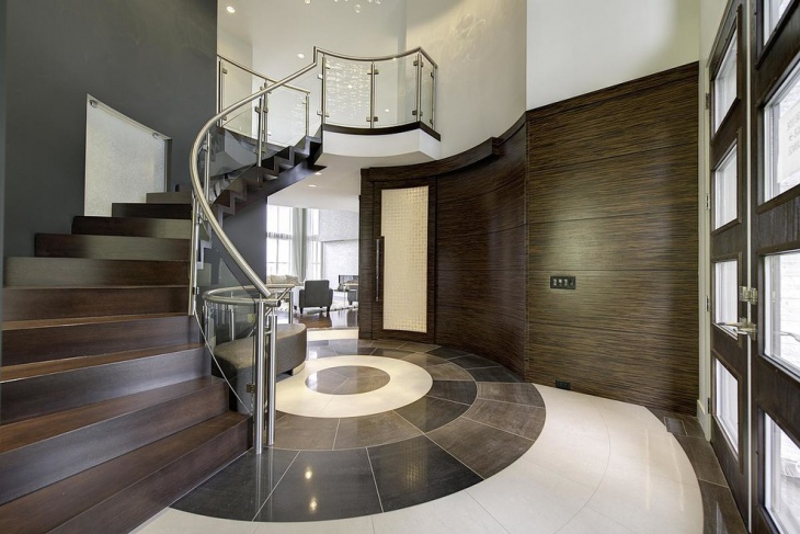 modern hall entrance design