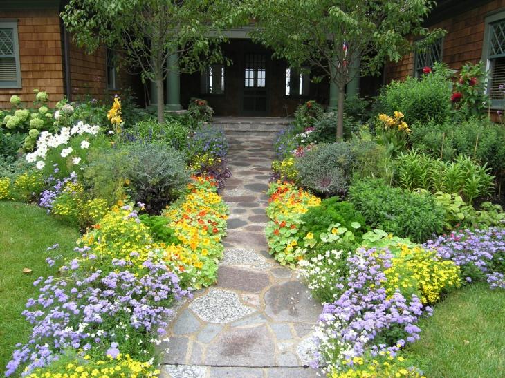 Front Garden Entrance Idea