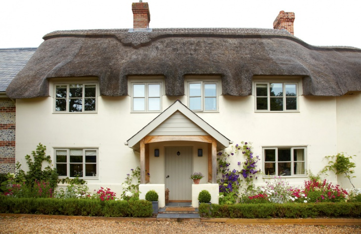 country cottage entrance design