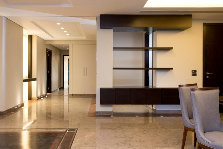 modern apartment entrance design