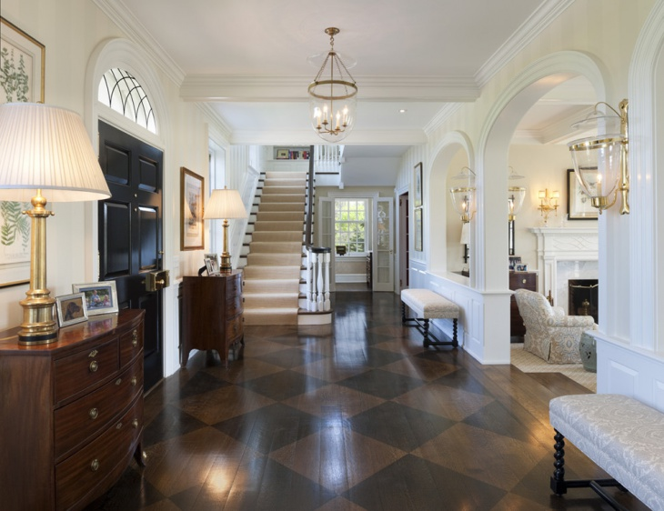entrance hallway flooring design