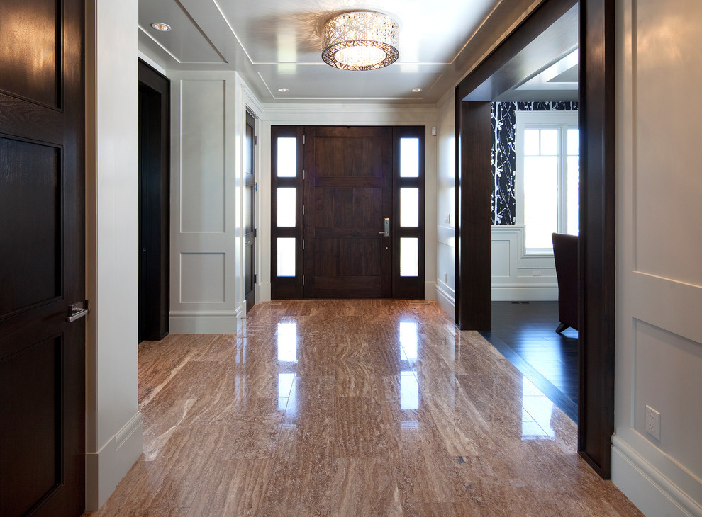 entrance tile flooring idea