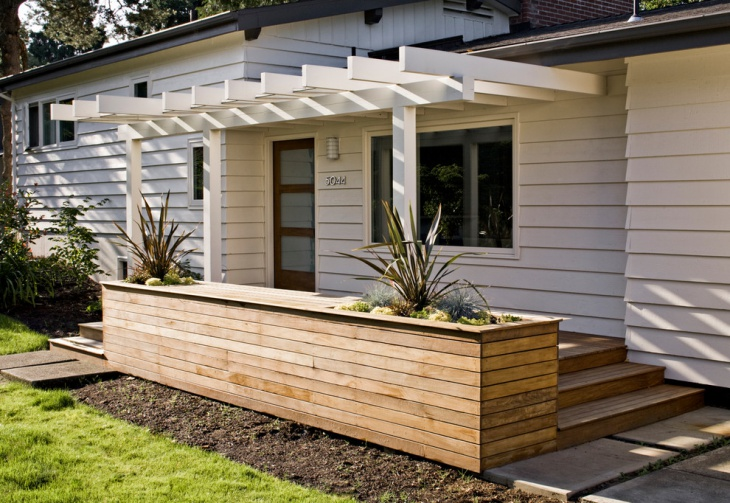 side entrance deck idea