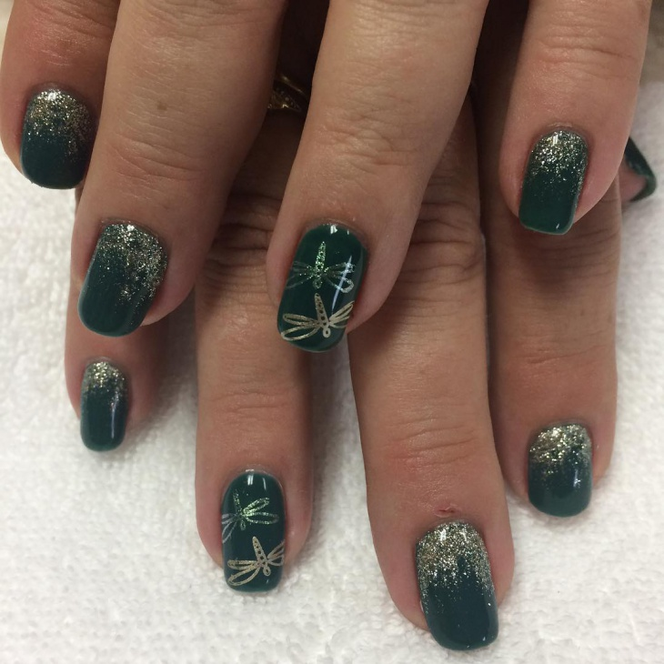 20 Dragonfly Nail Art Designs Ideas Design Trends