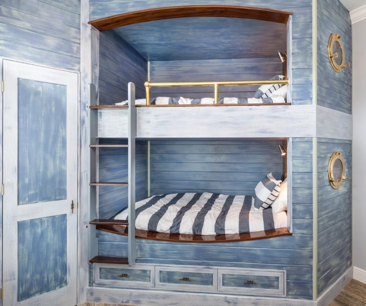 Girl's Nautical Bedroom Idea