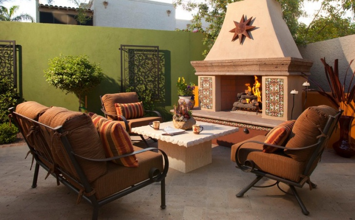 rustic iron outdoor furniture