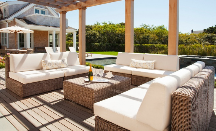luxury wicker outdoor furniture